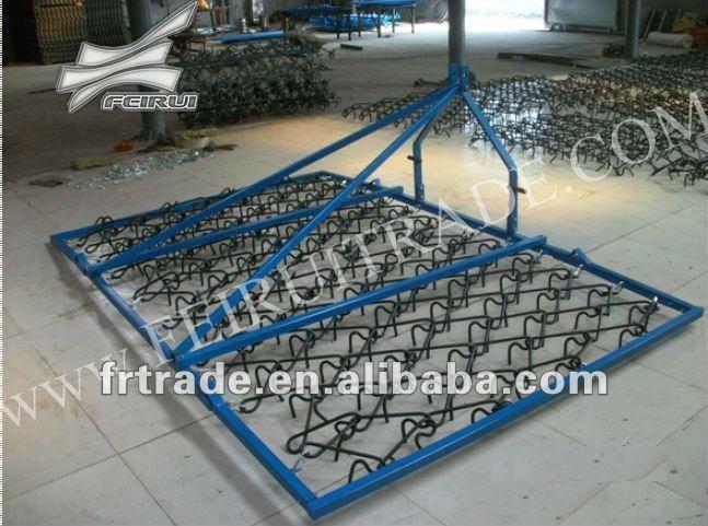 Drag Harrow Tines : Single tine pasture drag chain harrow tarter flexible