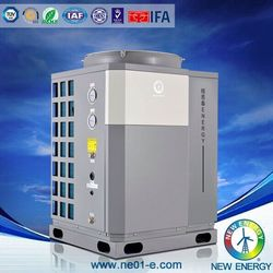 SCG pool heating extreme cold environment evi new design heat pump heating
