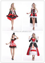 China Halloween tv movie adult Wholesale junhou instyles sexy party alice and wonderlandcostume fancy dress outlet