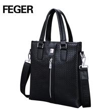 Custom Oem Leather Handbags China Wholesale Fashion Men Briefcase Bags