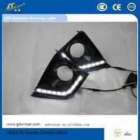 Factory Water Proof Top Quality Durable Auto LED Daytime Running Light for Toyota Corolla (2014)