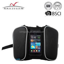 Cycling Bicycle Bike Bag Front Tube Bag Bike Saddle Bag for Smartphone 5.5 inch
