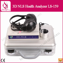 New Products 3D NLS Health Analyzer With Good Price, Salon Beauty Equipment