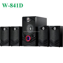 4.1 channel multimedia audio speaker quality audio with USB/SD/FM/Led Display/Remote Control
