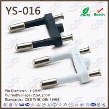 4-pin female power plug