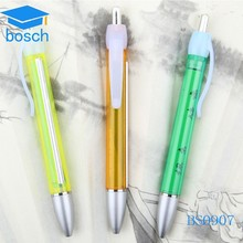 Ball Point Pen with pull out paper Logo paper pen for gift