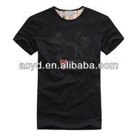 2013 high fashion mens clothing for blank t-shirt