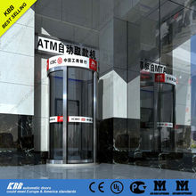 ATM security curved door with security glass, lock, CE certificate
