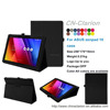 Top Selling Leather Stand Smart Case For ASUS zenpad 10 z300c Covers Case, Black