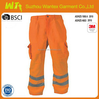 hi vis coat pant men suit trousers reflective safety workwear pants ladies working trousers