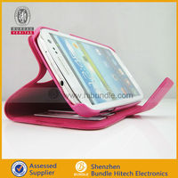 High Quality PU Leather Case Cover Stand for Samsung Galaxy S4 i9500