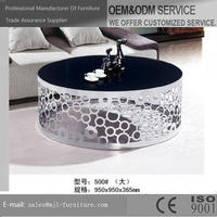 Good quality classical stainless steel knock down table