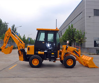 4x4 Compact Tractor With Loader And Backhoe For Sale