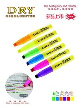 new Highlighter pen with flourescent solid lead