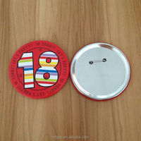 High quality tin pin button badge material