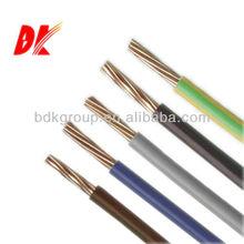 copper stranded wire,single strand copper wire,copper conductor pvc wire
