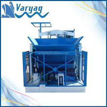 Alibaba China Works Faster Mobile Hollow Block Machine