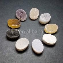 Custom make!! we can supply different druzy agate stone, cabochon druzy agate stone WT-GA023