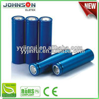 18650 lithium ion battery 2000mAh rechargeable 3.7v 1800mAh--2600mAh