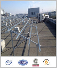 High quality industrial galvanized solar panel bracket and solar panel stand and solar mounting system for sale
