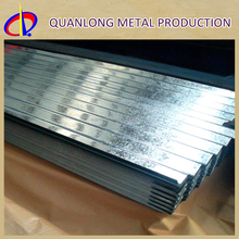 Z150 SGCC Hot Dip Corrugated Zinc GI Roof Sheet