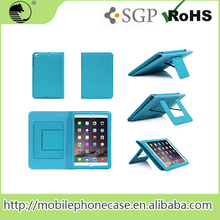 Guangzhou mobile accessories PU tablet cover for iPad with 2-way built-in stands , Flip Case For iPad mini 3