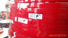 red color high gloss edge banding edging bands