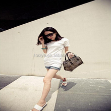 Woman Sweet Handbag Clear Jelly Transparent PVC Shoulder Bag Tote Chic Beach Style