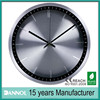 12 inch modern metal clocks and watches radio controlled time clock