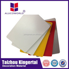Alucoworld Panel Tailored Precise ACM ACP decorative plastic wall covering sheets