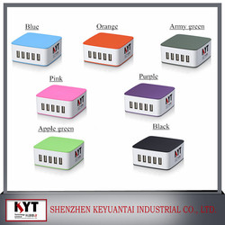 wholesale cell phone accessories portable external charger usb multi travel charger with Smart IC inside