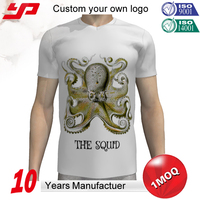 Custom design 40S combed cotton sublimation printing 3d pattern t-shirt digital printing Cotton Korean Couple T-Shirt