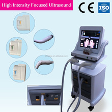 Hifu anti-aging cosmetology combine body simming machine