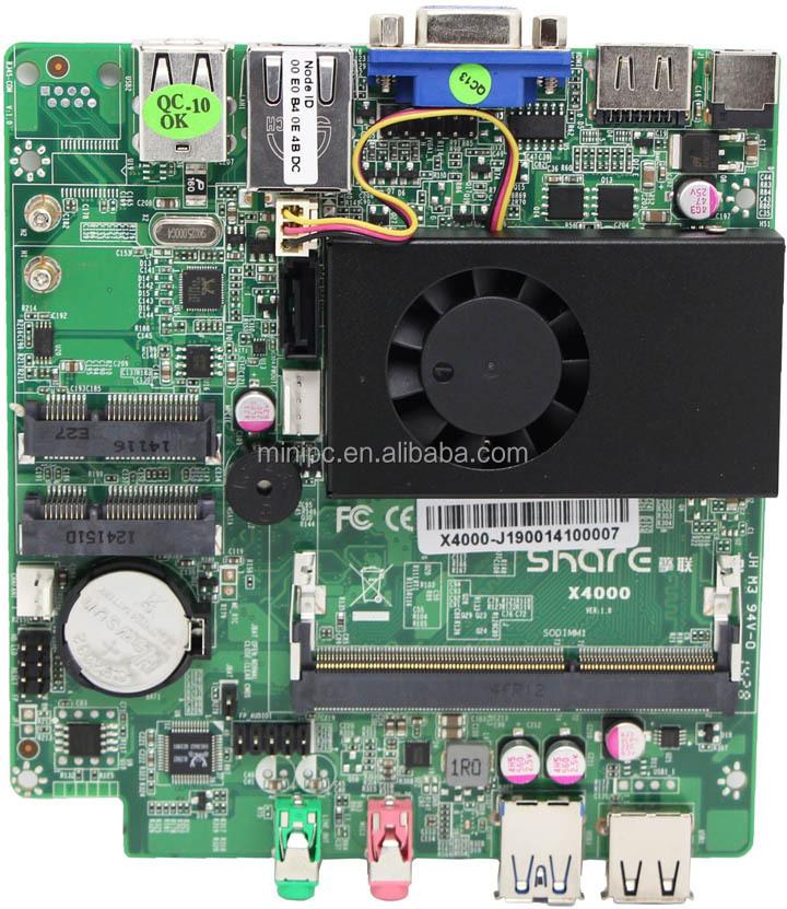 Бесплатная доставка пк J1900 с Intel Pentium Baytrail J1900 четырехъядерных процессоров 2.0 ГГц CPU специальные смарт-дизайна 4 г оперативной памяти 512 г SSD