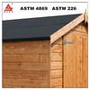 wholesale suppliers black asphalt roofing felt for log cabin