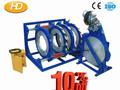 Pe hd250-450/tubo pead bunda máquina de solda em estoque