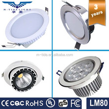 HOT sale led recessed downlight 6inch good price adjustable 18W LED downlight