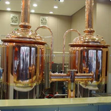 Professional Beer Brewing Equipment/ Red copper Brewhouse 1000Liter