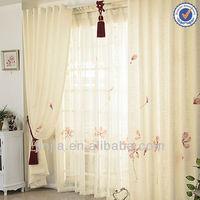 stock lastest model jacquard curtain fabric drapery