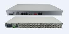 e1 to optical converter with 16E1 4GE 1+1 optical protection