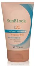SPF20 Anti-age Supply Type Sunscreen cream