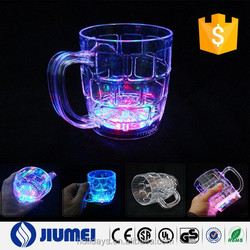285ml Colorful Induction Beer LED Flash Cup for Party Supplies Christmas Gift
