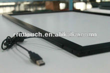 Large size touch screen make the TV become big touch table