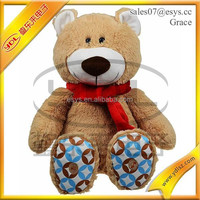 Soft lovely Christmas manufacturer MP3 player recording plush brown bear toy