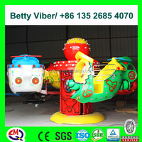 High class theme park rides China small kids aqua boat for sale