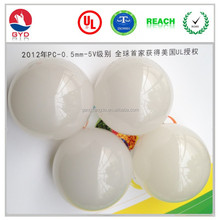 PC diffuser cover, 48mm round plastic lamp shade LED cover