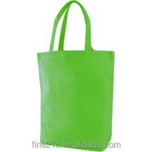 Eco friendly custom printed plain white cotton canvas tote bag