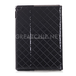 Manufacturer for iPad Pro Leather Case, High Quality Grid Leather Case for iPad Pro