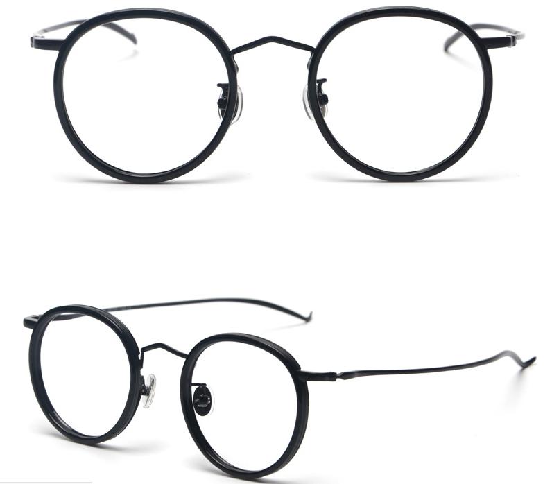 Girasol alta calidad ronda bosiyan lunor gafas en línea marco óptico ...