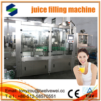 Perfect Sale Of Full Automatic 3-IN-1 Apple Packing Line/Fresh Fruit Filling Machinery automatic 3 in1 juce filling machine